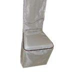 husa de scaun din brocard fixa