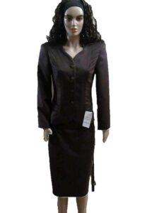 costum dama negru receptie