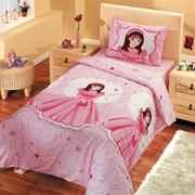Croitorie lenjerie de pat roz