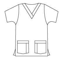 uniforma spital tipar